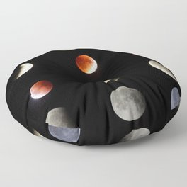 Super Moon eclipse photo collection (5-4) Floor Pillow