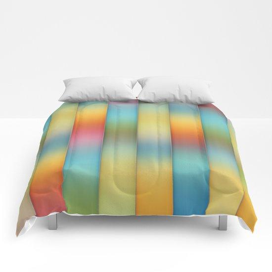 Beautiful, Colorful Stripes Comforters