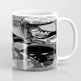 Bird of Steel Comix – #8 of 8  - (Society 6 POP-ART COLLECTION SERIES) Coffee Mug