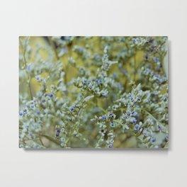 Delicate Wildflowers Metal Print