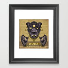 Bagheera Framed Art Print