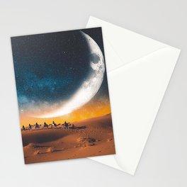 Morocco's desert Stationery Cards