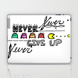 """Never Give Up""  Laptop & iPad Skin"