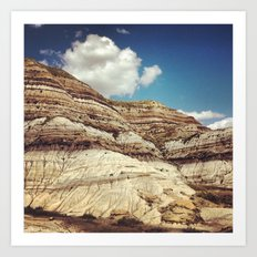 Striations Art Print