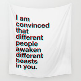 I Am Convinced Wall Tapestry