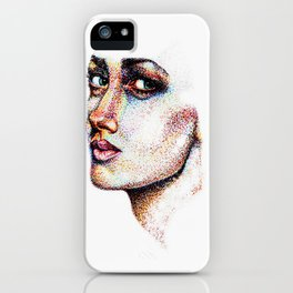 Portrait Pointed Out iPhone Case