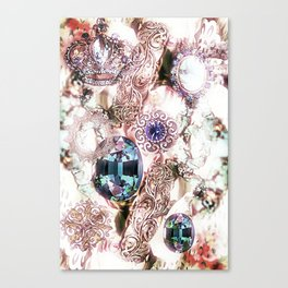 Pearly Bling Canvas Print