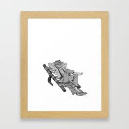 Inktober Day 14 Framed Art Print