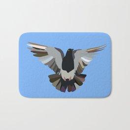 Pigeon #2 Bath Mat