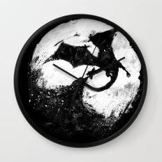 Midnight Desolation Wall Clock