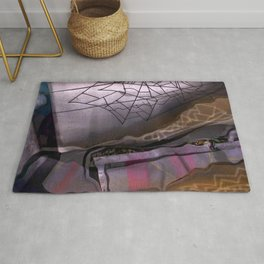 Corrugated Complexities Rug