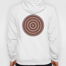 seamless background in abstract aboriginal style Hoody