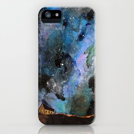 Space House iPhone Case