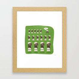 Osama Bin Laden - Has Bin Framed Art Print