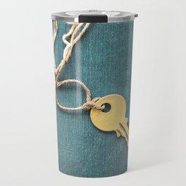 Key and String Travel Mug
