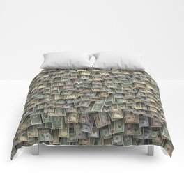 US dollars all over cover Comforters