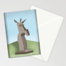 Monolithic Unicorn Stationery Cards