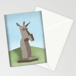 Monolithic Unicorn Stationery Cards