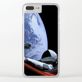 The Starman Clear iPhone Case