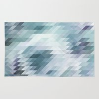 polygon Area & Throw Rugs featuring Polygon by Boho déco