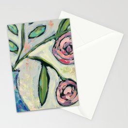 'Rosie' Contemporary Floral Stationery Cards
