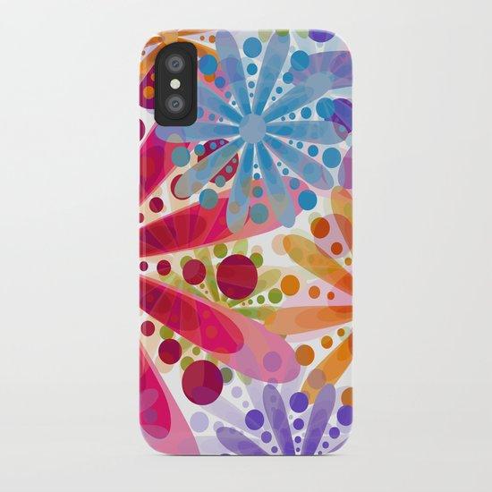 Flower 32 iPhone Case
