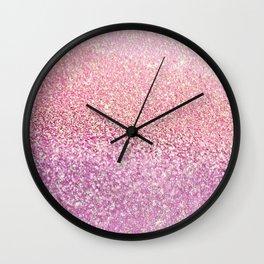GOLD PINK Wall Clock