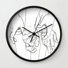Invisible Hand Theory Wall Clock