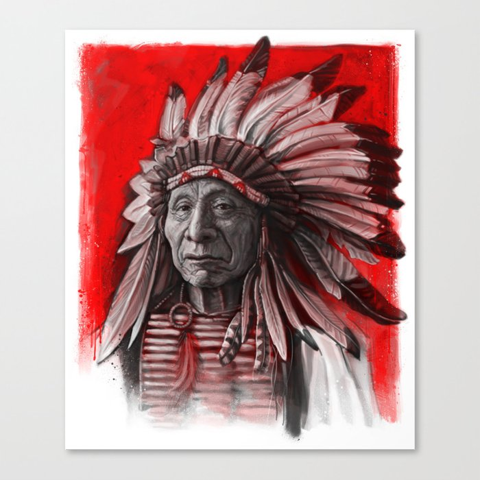 Red Cloud Canvas Print