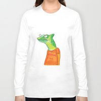 rubyetc Long Sleeve T-shirts featuring Everything Fine by rubyetc