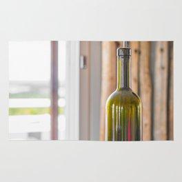 Wine Bottle Lamp Rug