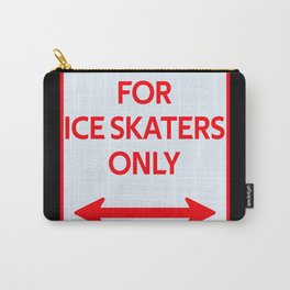 Parking sign skaters skating Carry-All Pouch
