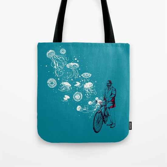 Journey in Blue Tote Bag