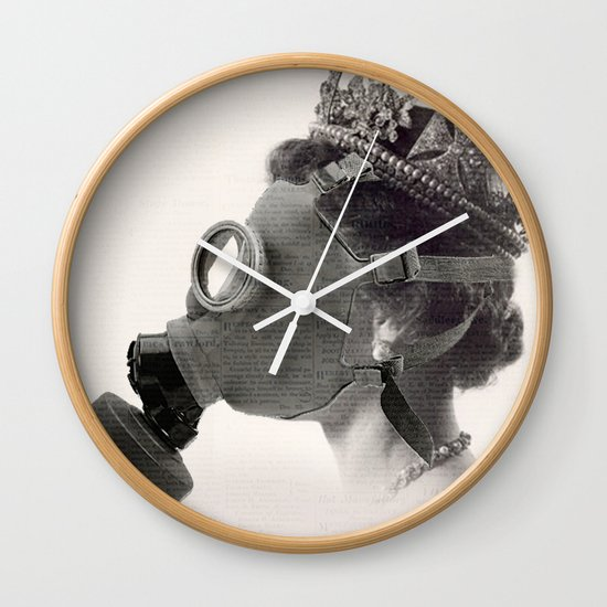 Royal Nose Wall Clock