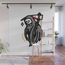 Grim Lantern Wall Mural