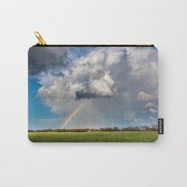 Under the Rainbow - Rainbow Over Oklahoma Landscape Carry-All Pouch