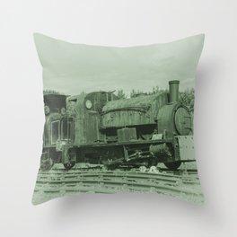 Rusting Tanks Throw Pillow