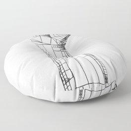 Planar Hand Floor Pillow