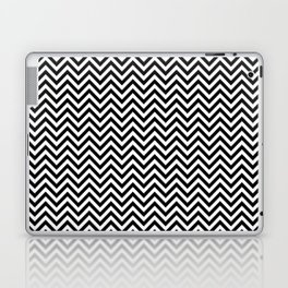 Black and White Chevron Laptop & iPad Skin
