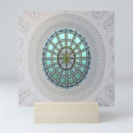 Tiffany Skylight Window Mini Art Print