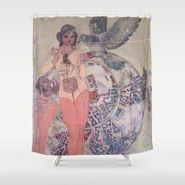 The Origins / Progression Shower Curtain