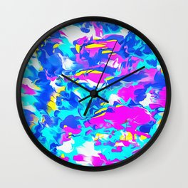 Hungover Saturday Wall Clock
