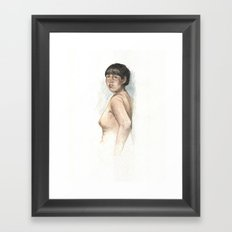 Nude study 2 Framed Art Print