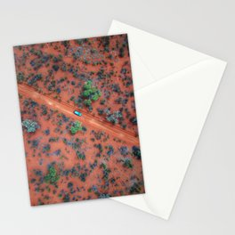 The Australian Outback Roads  Stationery Cards