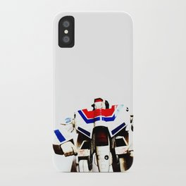 Let's fight like robots iPhone Case