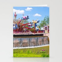 dumbo Stationery Cards featuring Dumbo Ride by ThatDisneyLover