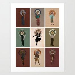 The Saints of Serenity Art Print