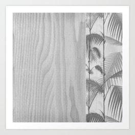 Woody palmy Art Print