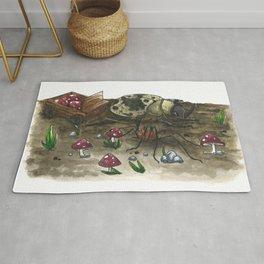 Little Worlds: The Harvest Rug