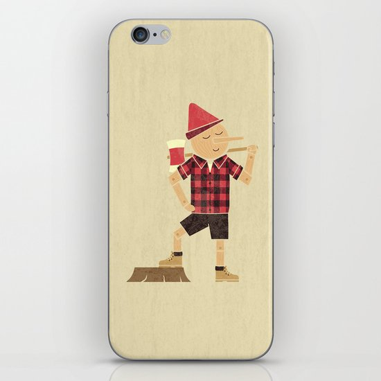 Wrong Guy For The Job iPhone & iPod Skin